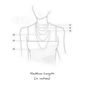 Necklace Length (in inches)